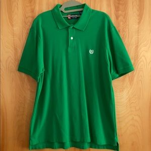 Chaps Polo Short Sleeve Green Large